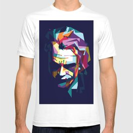 joker in colorful popart style T-shirt