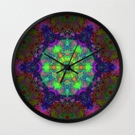 Fission Flower Wall Clock