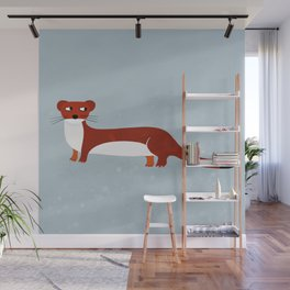 Weasel Wall Mural