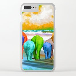 Family Walk Clear iPhone Case
