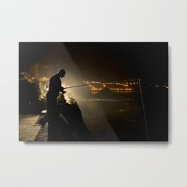Biarritz, France - The Fisherman Metal Print