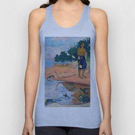 Paul Gauguin - Haere Pape Unisex Tank Top