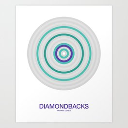 Arizona rings Art Print