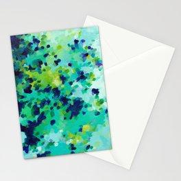 Aquamarine Addiction Stationery Cards