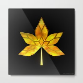 Autumn Leaves: Frame 070 Metal Print