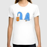 whiskey T-shirts featuring whiskey genie by gazonula