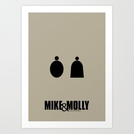 Mike&Molly Minimalistic Art Print