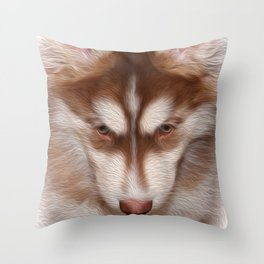 Puppy Dog Tails Throw Pillow