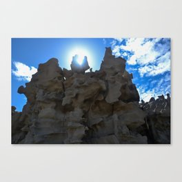 Fantasy Canyon Canvas Print