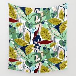Jungle Pattern Wall Tapestry