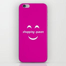 Yay Shopping! iPhone Skin