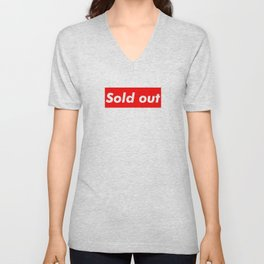 Supreme Sold Out Unisex V-Neck