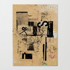 misprint 42 Canvas Print