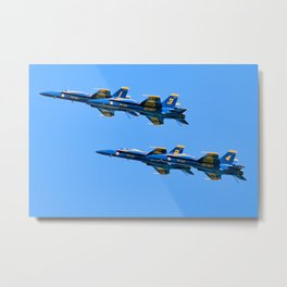 The Blue Angels In Myrtle Beach Metal Print