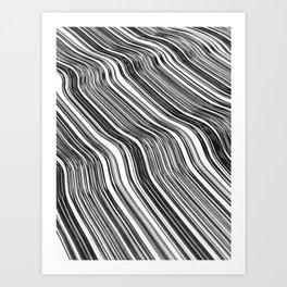 Ink Field 1 Art Print