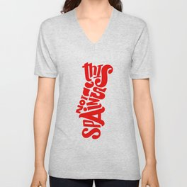 This is not Spain Unisex V-Neck