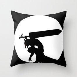 Gatsu berserk armor Throw Pillow