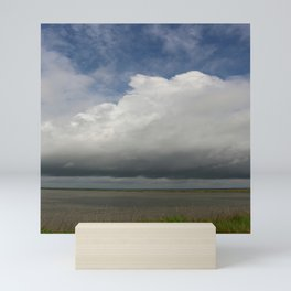 Clouds Over The Marsh Mini Art Print