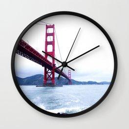 Contrast Bridge Wall Clock