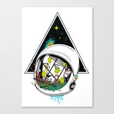 Space Gummies Canvas Print