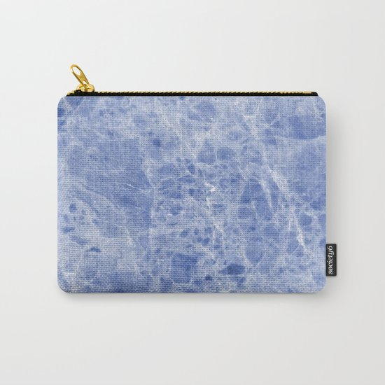 Juliette blue marble Carry-All Pouch