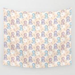 Happy Sack Boy Doll Wall Tapestry