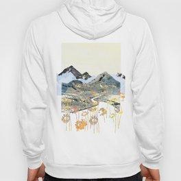 Daisy Mountain - Art Collage Hoody