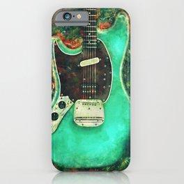 Kurt Cobain's electric guitar iPhone Case