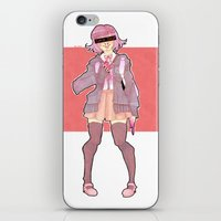 minaj iPhone & iPod Skins featuring Chiaki Minaj by milkystars
