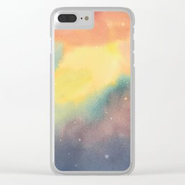 Space Illusion Clear iPhone Case
