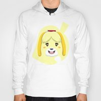animal crossing Hoodies featuring Animal Crossing Isabelle by ZiggyPasta