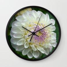 Gaylen Rose Dahlia Wall Clock
