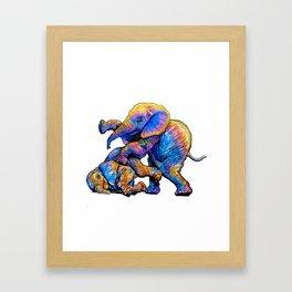 Kids@Play Framed Art Print