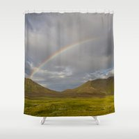 iceland Shower Curtains featuring ICELAND III by Gerard Puigmal