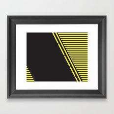 Lines: One Framed Art Print