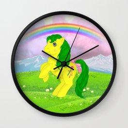 g1 my little pony magic star Wall Clock