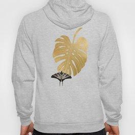 Botanical, Butterfly & Monstera Hoody