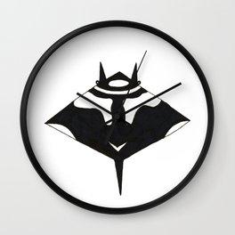 manta ray singles Wall Clock