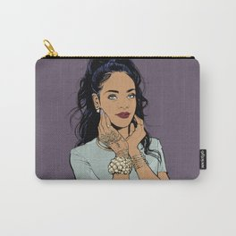 Bajan Flower Carry-All Pouch