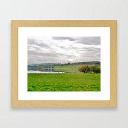 Ireland: lake Framed Art Print