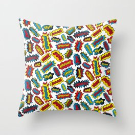 Super Words! Throw Pillow