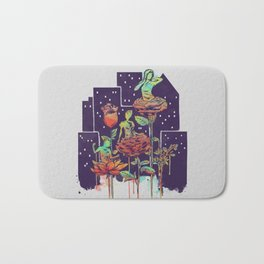 City of Flower Bath Mat