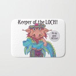 Keeper of the LOCH! Bath Mat