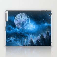 Night forest Laptop & iPad Skin