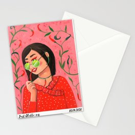 Just Chilli-ng Stationery Cards