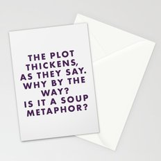 The Grand Budapest - The plot thickens as they say. Why by the way? Is it a soup metaphor? Stationery Cards