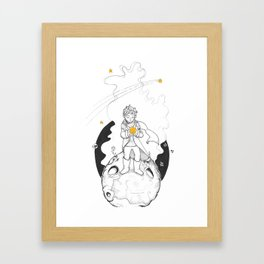 Have a star Framed Art Print