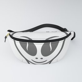 Space alien style Fashion Modern Design Print! UFO Flying saucer Fanny Pack