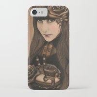 chocolate iPhone & iPod Cases featuring Chocolate by Sheena Pike ART