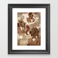 Repitition Framed Art Print